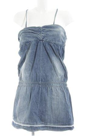 Mango Jeans Jeanskleid stahlblau Casual-Look