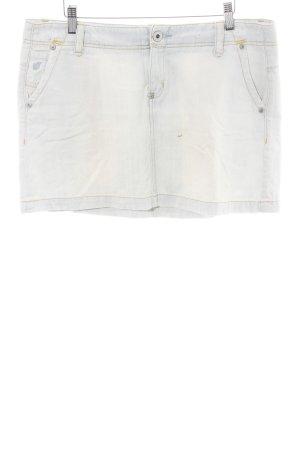 Mango Jeans Jeansrock weiß Casual-Look