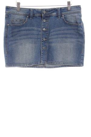 Mango Jeans Spijkerrok blauw casual uitstraling