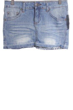 Mango Jeans Jeansrock stahlblau schlichter Stil