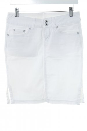 Mango Jeans Denim Skirt natural white casual look
