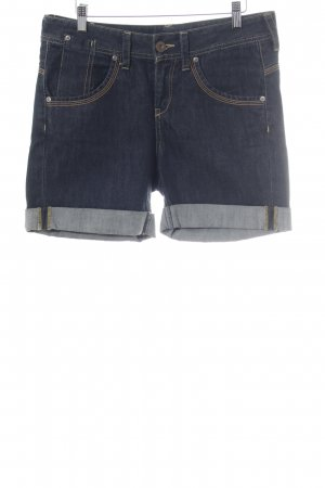 Mango Jeans Jeansshorts dunkelblau Casual-Look