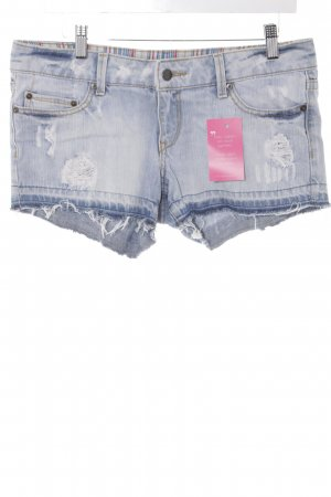 Mango Jeans Jeansshorts himmelblau Casual-Look