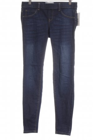 Mango Jeans Jeggings dunkelblau Street-Fashion-Look