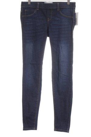 Mango Jeans Jegging donkerblauw straat-mode uitstraling