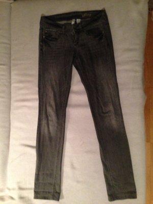 MANGO Jeans Lizzy grau 38