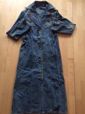 Mango Jeans Mantel mit niedlichen Knöpfe - Grösse M - used Effekt