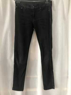 Mango Jeans slim fit nero