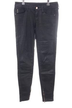 Mango Jeans Röhrenhose schwarz Casual-Look