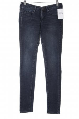 Mango Jeans Tube Jeans dark blue casual look