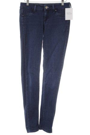 Mango Jeans Skinny Jeans dunkelblau-stahlblau Casual-Look