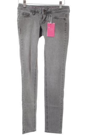 Mango Jeans Skinny Jeans grau Casual-Look