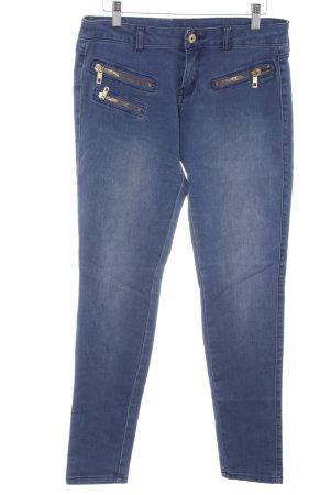Mango Jeans Skinny Jeans kornblumenblau Casual-Look