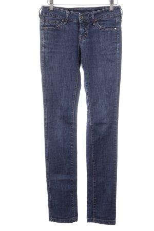 Mango Jeans Slim Jeans dunkelblau Casual-Look