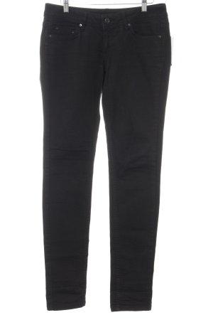 Mango Jeans Slim Jeans schwarz Casual-Look