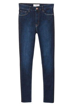 Mango Jeans 'SOHO', dunkelblau, Gr. 38 mit Gallionsstreifen