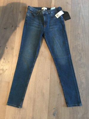 Mango Five-Pocket Trousers blue