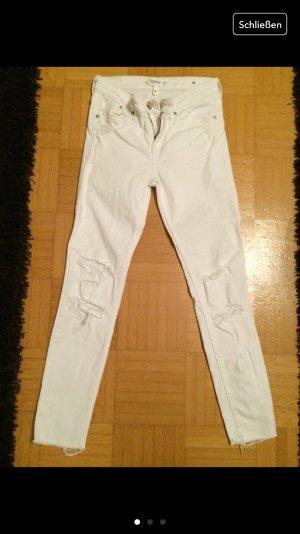 Mango Jeans weiß used