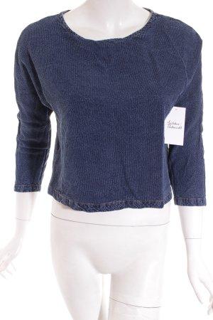 Mango Jeansbluse blau Casual-Look