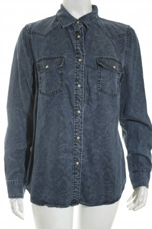 Mango Camicia denim blu stile casual