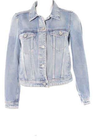 Mango Jeansjacke himmelblau Jeans-Optik