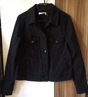 MANGO Jeansjacke schwarz