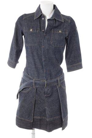 Mango Jeanskleid dunkelblau meliert 90ies-Stil