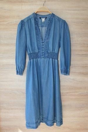 Mango Robe en jean bleu