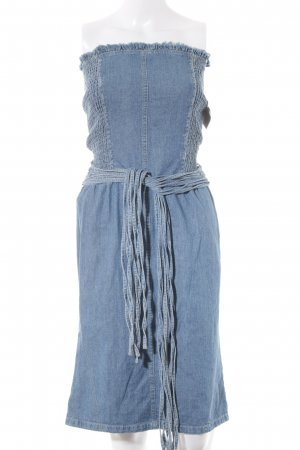 Mango Jeanskleid kornblumenblau Jeans-Optik