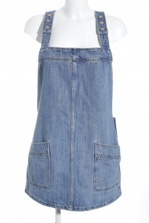 Mango Jeansjurk staalblauw Jeans-look