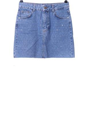 Mango Gonna di jeans blu stile casual