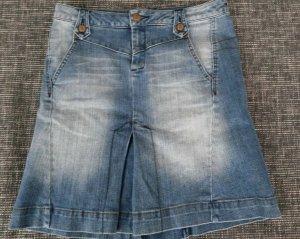 Mango Jeansrock, MNG, Jeans Rock, Denim, Knielang