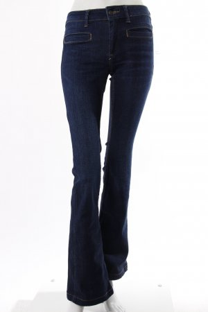 Mango Jeansschlaghose blau