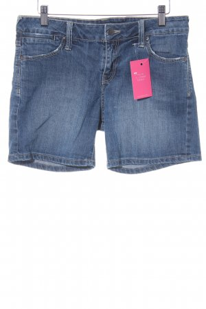 Mango Jeansshorts stahlblau Jeans-Optik