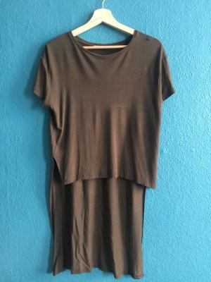Mango Jersey Shirt Crop Long Version