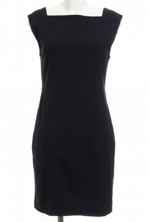 Mango Jerseykleid blau Business-Look