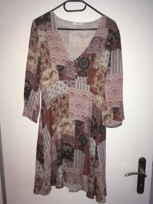 Mango Suit Hippie Dress multicolored
