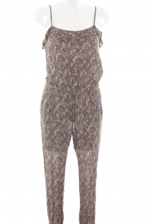 Mango Jumpsuit abstraktes Muster Casual-Look