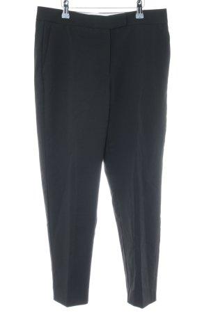 Mango Pantalón de pinza alto negro estilo «business»