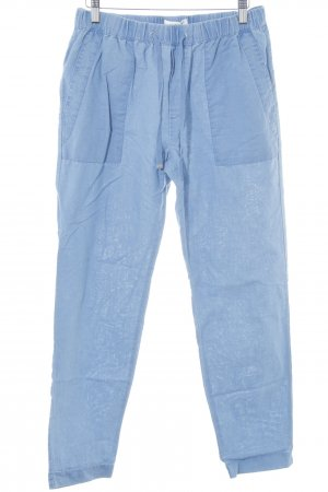 Mango Carrot Jeans light blue casual look