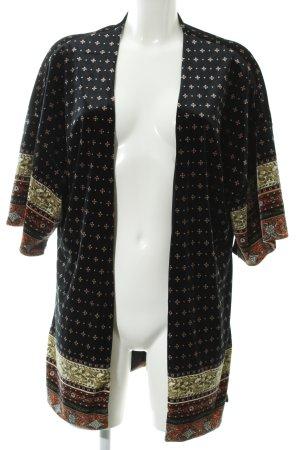 Mango Kimono Sweater allover print casual look