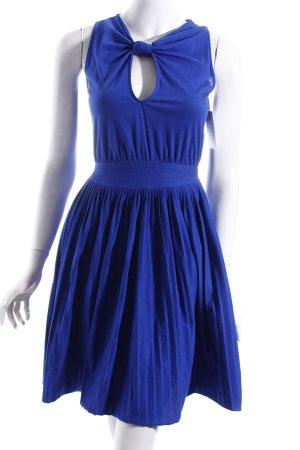 Mango Kleid blau klassischer Stil