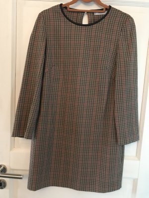 Mango Kleid braun / schwarz rot Karo Gr. S