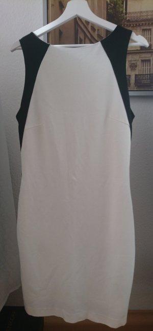 Mango Kleid:Colour -Block Black & White