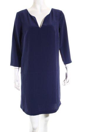 Mango Kleid dunkelblau schlichter Stil