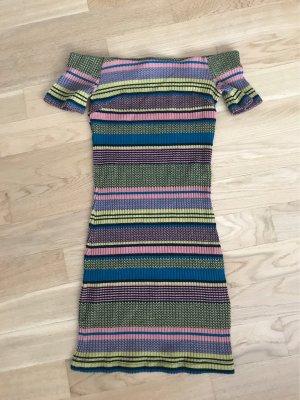 Mango Mini-jurk veelkleurig
