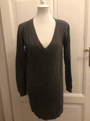 Mango Suit Sweater Dress anthracite