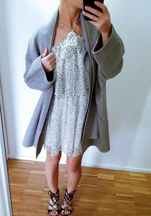 Mango Kleid Gepunktet Volants romantisch Lagenlook