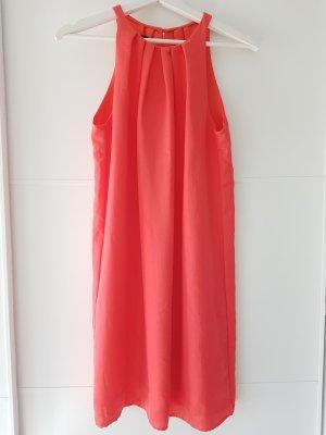 Mango Robe trapèze rouge clair