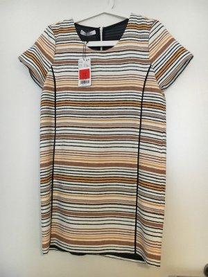 MANGO Kleid Gestreift
